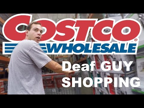 THE DEAF EXPERIENCE | Costco Part 1
