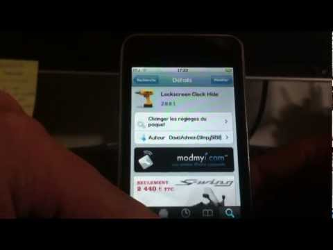 Lockscreen Clock Hide (iPhone/iPodtouch/iPad)
