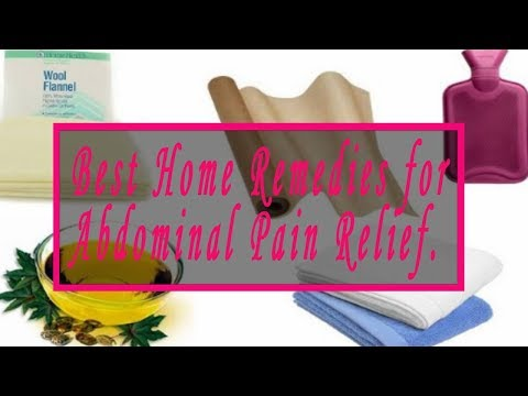 Home Remedies for Abdominal Pain | Top 4 Home Remedies for Abdominal Pain Relief