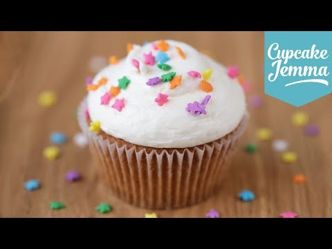 The Perfect Vanilla Cupcake Recipe | Cupcake Jemma