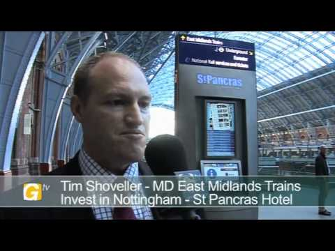 Tim Shoveller, MD, East Midlands Trains, at Invest in Nottingham Day London 2011