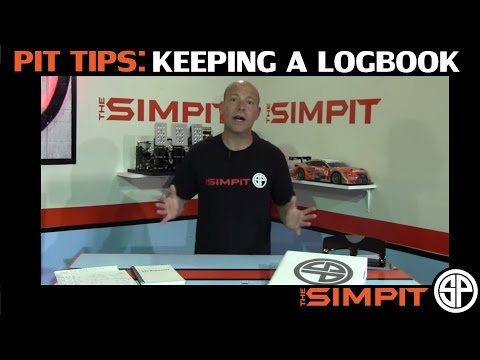 Pit Tips: Keeping a Logbook by The Simpit
