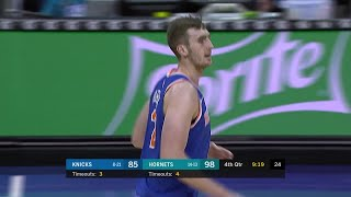 4th Quarter, One Box Video: Charlotte Hornets vs. New York Knicks
