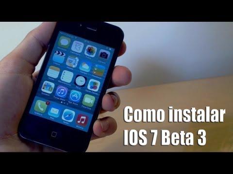 Instalar IOS 7 beta 3 gratis en iPhone 5/4s/4, iPod touch 5g, iPad 4/3/2 y iPad Mini  2013 español