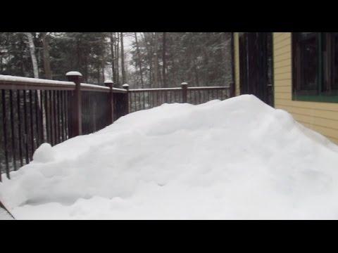 Packed Snow Snowblower Challenge