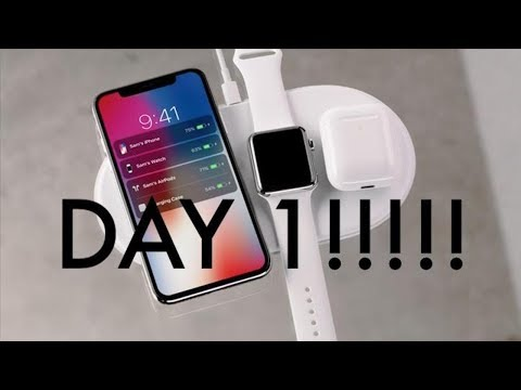 IPhone X getting lucky on LAUNCH DAY! ** UNBOXING **
