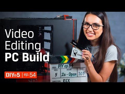 Ryzen 7 or i7? DDR4 or DDR3? - Build a Video Editing PC – DIY in 5 Ep 54