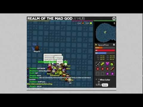 RotMG - Archer with Doom Bow in a WC
