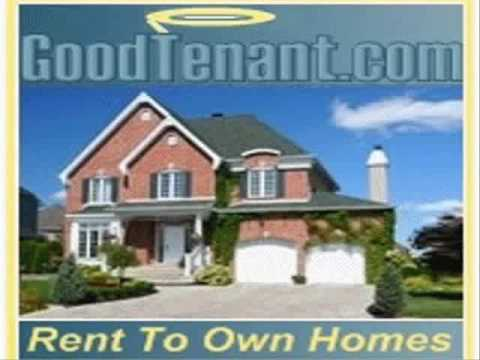 GoodTenant.com Rent To Own Homes.  No Down Payment & Bad Credit Is Ok!