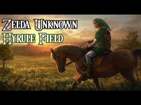 Zelda Wii U - Hyrule field and Epona (Zelda Unknown)