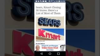 Walmart closings in 2017 (FEMA)