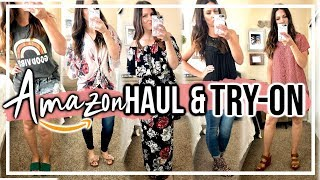 Download AMAZON CLOTHING HAUL & TRY-ON // AMAZON PRIME FAVORITES 2019 Video