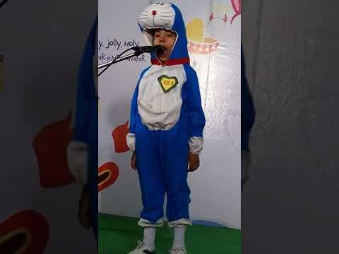 Doraemon fancy dress costume