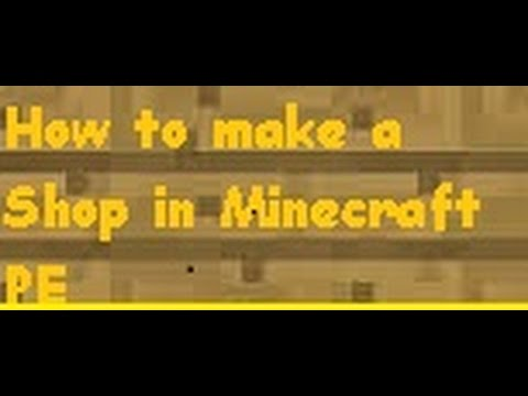 [0.9.0] UPDATE HOW TO MAKE A SHOP IN MINECRAFT PE