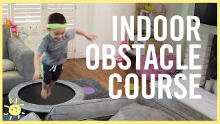 PLAY | Indoor Obstacle Course!