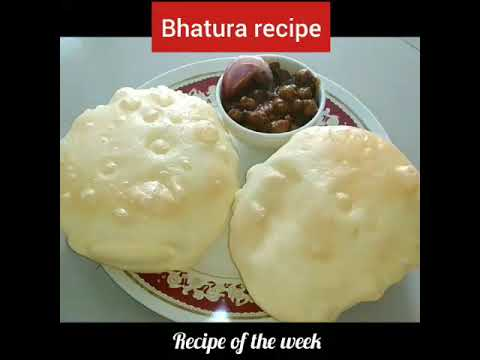 Bhatura recipe/how to make bhatura/bhatura recipe step by step/ભટુરા બનાવવાની રીત/Recipe of the week
