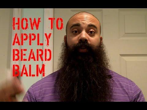 How to Apply Beard Balm