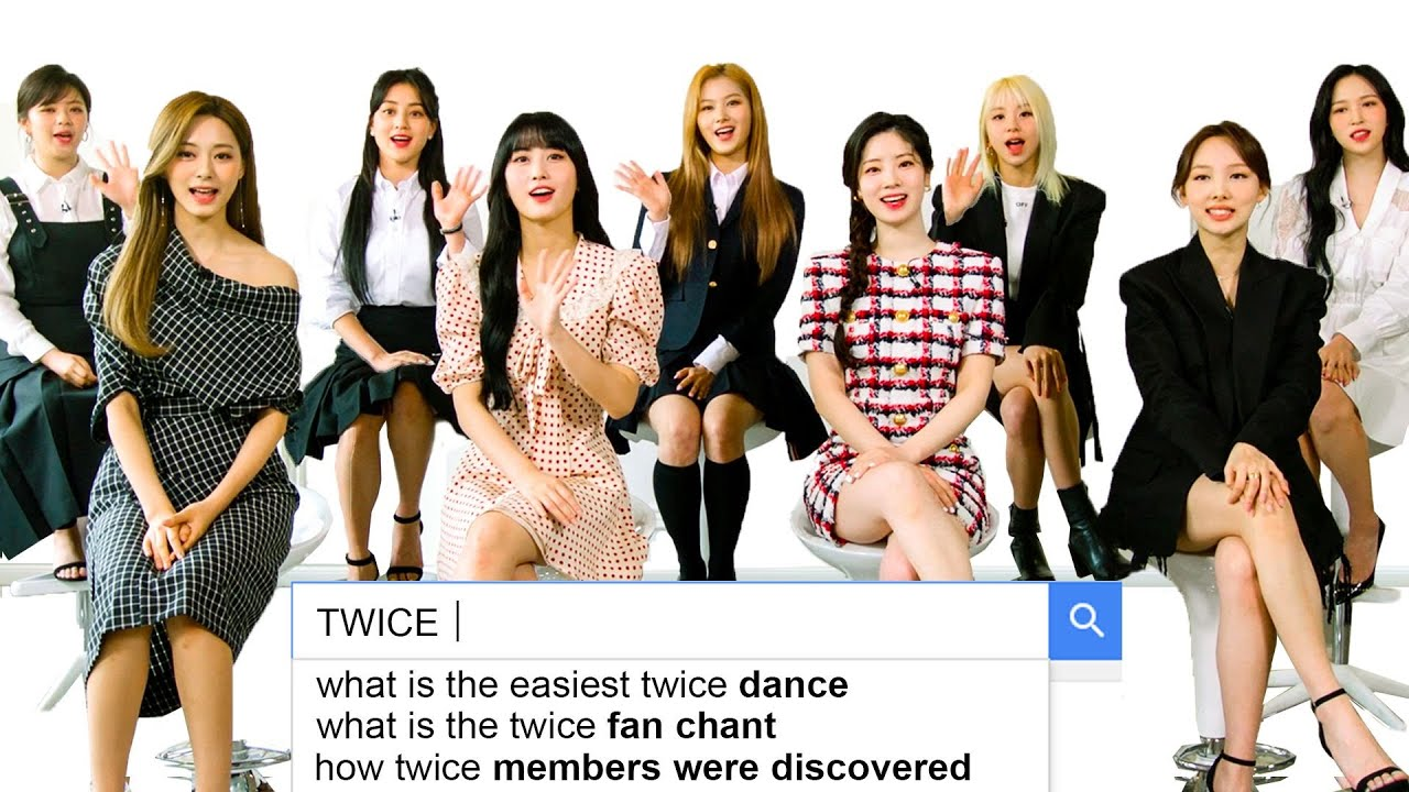 TWICE Answer the Web's Most Searched Questions   WIRED