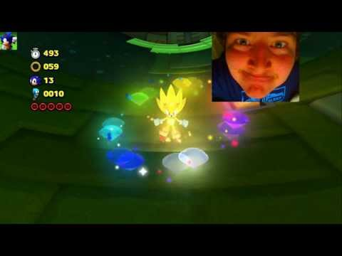 SONIC LOST WORLD : Super Sonic Gameplay