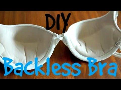 DIY Backless Bra