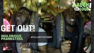 Get Out! | Inglorious Pranksters | LOL Network