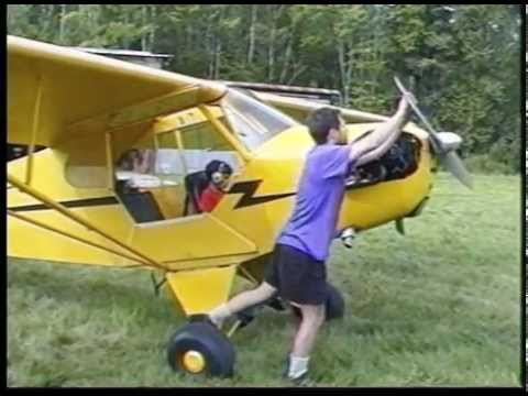 Piper Cub The Yellow Airplane | Kids Learn to Fly