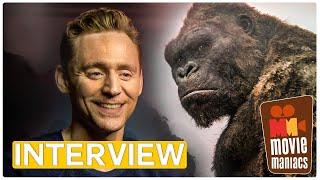 Kong: Skull Island | Tom Hiddleston Samuel L. Jackson & Brie Larson - Exclusive Interview