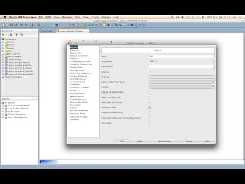 Oracle SQL Developer - How to create an ERD and generate the SQL Script