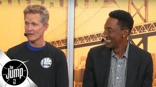 Steve Kerr and Scottie Pippen reminisce on Phil Jackson