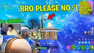 I befriended and then BETRAYED the chillest Duos Partner.. (Fortnite Battle Royale)