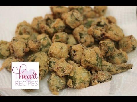 Southern Fried Okra Recipe | I Heart Recipes