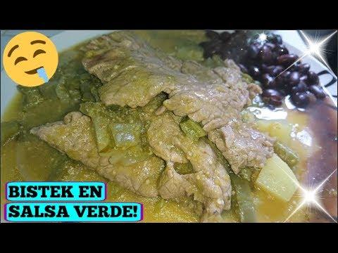 Bistec en Salsa Verde CON SABOR A PUEBLO! #elvideofacilito