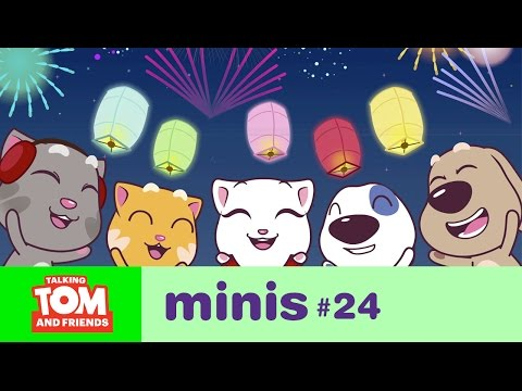 Talking Tom and Friends Minis - New Year's Wishes (Episode 24)