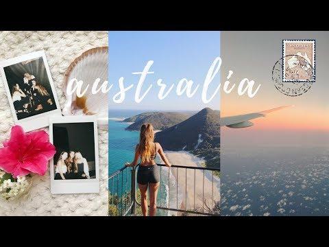 AUSTRALIA TRAVEL VLOG   Tess Florio