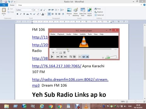 How to Listen Radio Using VLC Media Player For FREE - Top Trick on vlc