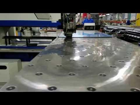 Punching .025 Anodized Aluminum on Trumpf 2020