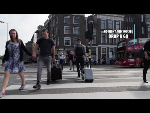 How to get to Drop & Go from Amsterdam Central Station