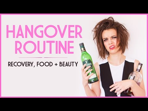Hangover Routine! Recovery, Beauty & Food! ◈ Ingrid Nilsen