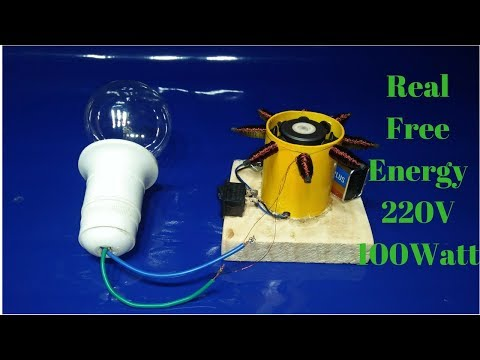 how to make a generator with dc motor and copper wire output 220 volt 100watt real