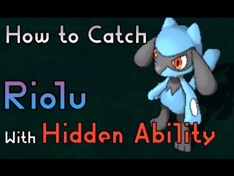 How to Catch a Riolu with Hidden Ability - Pokemon Sun and Moon
