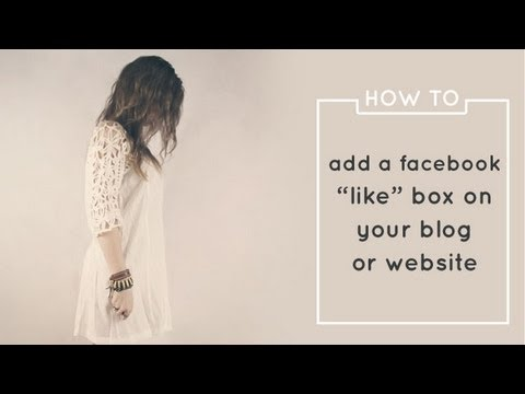 How to Add a Facebook