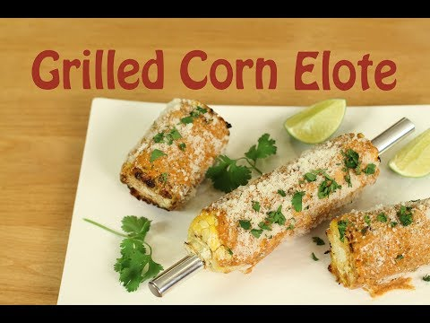 How To Make Elote Mexican Grilled Corn Recipe | Rockin Robin Cooks