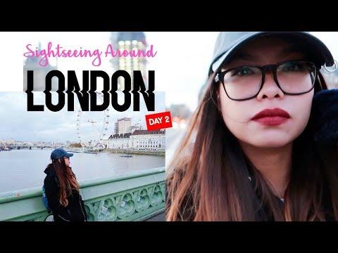 LONDON VLOG: BOAT CRUISE, LONDON EYE, BUS TOUR | SHYNESSLAVZ 🖤