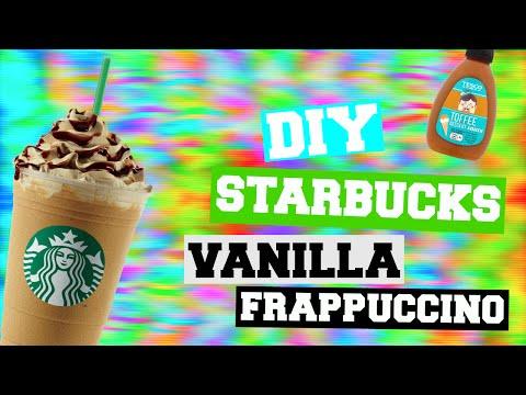 diy starbucks vanilla frappuccino - coffee free!