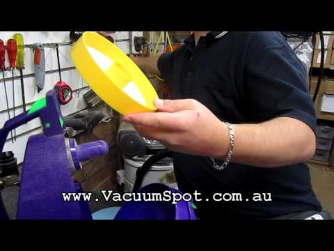 Dyson DC05 Vacuum Cleaner filters how to find and check them