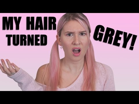 My Hair Turned Grey - How To Fix It EASY!