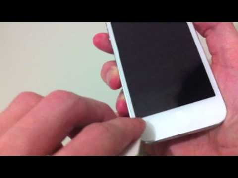 How to fit a Screen Protector Perfectly - iPhone 5