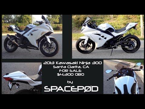 Spacep0d's 2013 Kawasaki Ninja 300 For Sale. SOLD!