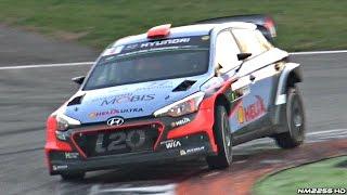 Monza Rally Show 2016 Test Day 2 - PURE Car SOUNDS! - Dani Sordo, Valentino Rossi & More!