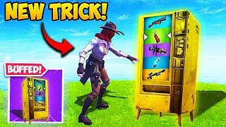 THIS VENDING MACHINE TRICK IS OP! - Fortnite Funny Fails and WTF Moments! #496